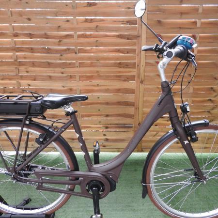 Rower elektryczny Frappe. D 49. Shimano Steps