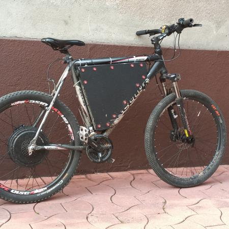 E-bike w całości lub na części