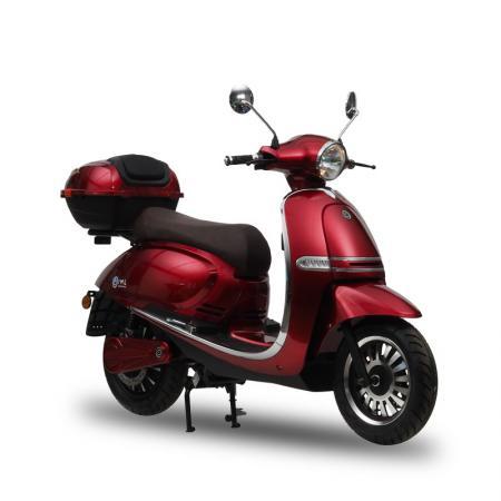 Skuter elektryczny Roma iamelectric motocykl  Vmax 75km/h! czerwona czarna srebrna 4000W