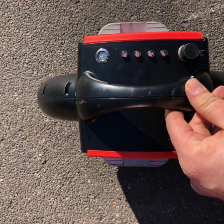 Airwheel x3, Małe koło do nauki jazdy