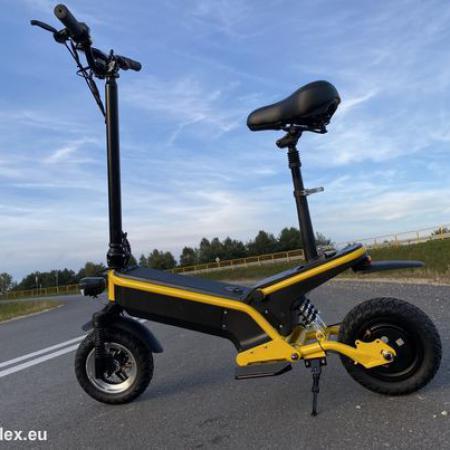 Następca hulajnogi - Pojazd elektryczny VELEX model KWAZAR F1