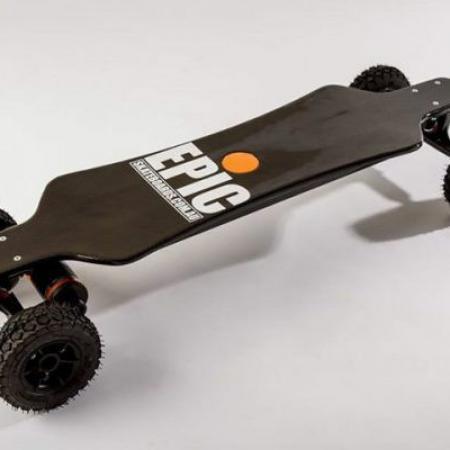 Deskorolki elektryczne Epic Racer 3200 Carbon Dual PRO 38km/h!