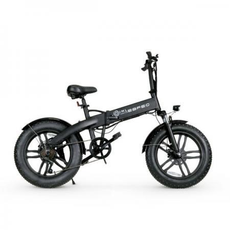 Rower elektryczny Fatboy iamelectric składany 350W czarny biały oliwkowy