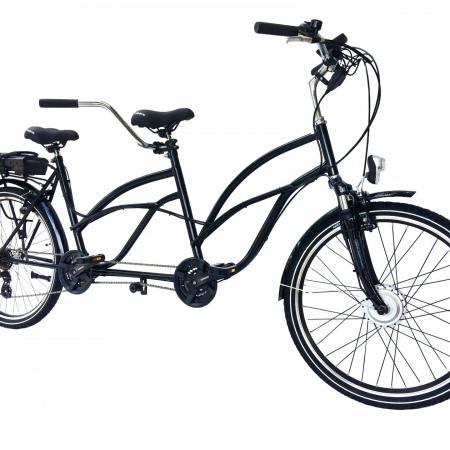 Rower tandem 26' PREMIUM Elektryczny 250 W z silnikiem NOWY
